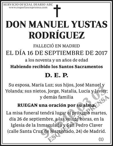 Manuel Yustas Rodríguez